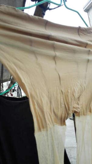 浪莎丝袜女夏季连裤袜防勾丝薄款连体长筒女打底袜超薄 超薄防勾丝连裤咖啡色3双 晒单图