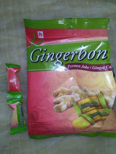 印尼进口零食Gingerbon/津格伴原味/蜂蜜柠檬味/黄油花生味老姜糖125g姜汁软糖果 原味 晒单图