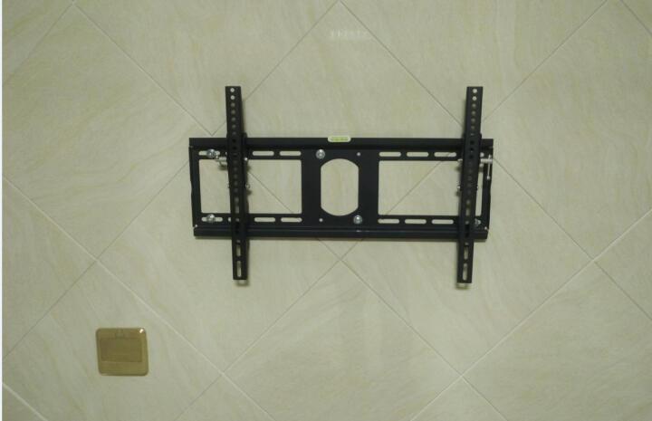 威视朗32-75英寸通用电视挂架可调节15°加厚液晶壁挂架小米4A/4C/4S/4X夏普索尼海信长虹 加厚/MT大号 (49-65寸)孔距60x40cm 晒单图