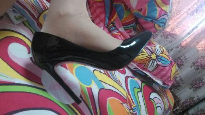 浪莎丝袜连裤袜女超薄包芯丝性感免脱丝袜比基尼加档丝袜1条 肤色-比基尼款 均码 晒单图