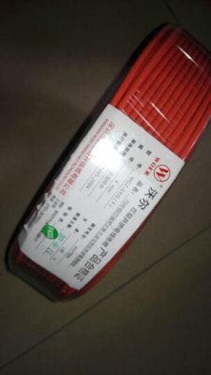 woer 沃尔2.5平方国标铜芯电线低烟无卤阻燃 单芯多股双层软电线100米/盘家装插座用线 黄绿双色 晒单图