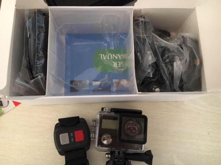 史历克 7500S运动相机4K智能摄像机双屏WIFI防水30米户外航拍潜水骑行防抖山狗智能摄像机 黑色 晒单图