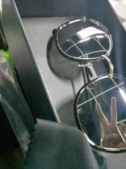 威古氏(VEGOOS)太阳镜女款偏光大框驾驶墨镜6118 砂粉框女神紫 晒单图
