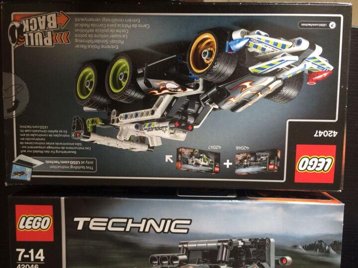 【乐高认证专营店】乐高积木机械组科技系列男孩拼装玩具 lego technic儿童拼插积木小颗粒 空中喷气飞机42066(小颗粒1151粒) 晒单图