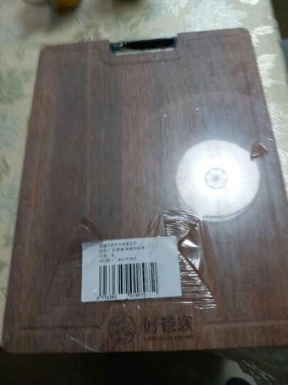 好管家 实木菜板家用鸡翅木砧板长方形红木切菜板厨房案板擀面板厚 送砧板架 +鸡翅木筷(42*30*3cm) 晒单图