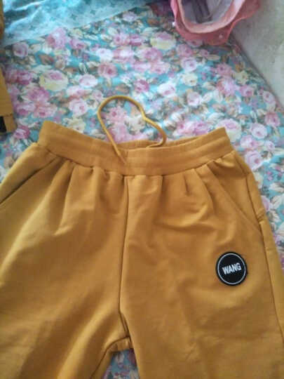 心雅阁 女装新款休闲跑步运动棒球外套三件套装 黄色 M 晒单图