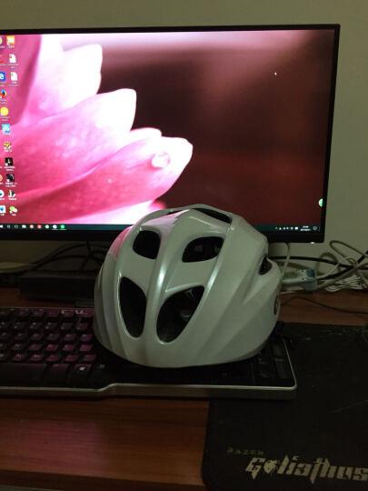 smart4u 自行车头盔男女骑行头盔一体成型蓝牙头盔音乐单车山地车公路骑行装备安全帽SH20 珍珠白 L(58-62cm) 晒单图