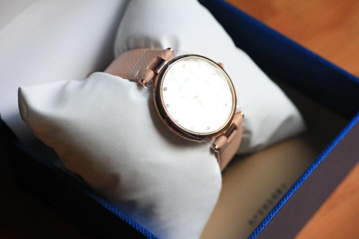 罗西尼(ROSSINI)手表 雅尊商务系列时尚潮流皮带石英女表516368G01B 晒单图
