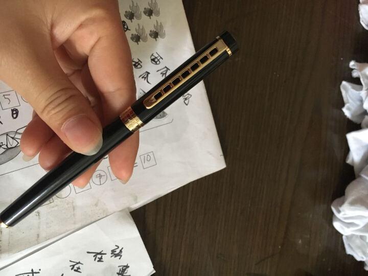 钢笔钢琴烤漆男女学生直尖书法签字笔美工笔 办公练字笔礼盒装 签字免费刻字 非京东自营 礼盒红色 0.5mm 晒单图