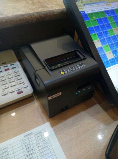 芯烨(Xprinter)XP-N160II热敏小票打印机80mm厨房餐饮打印机收银机后厨 N160II(USB)带切刀 晒单图
