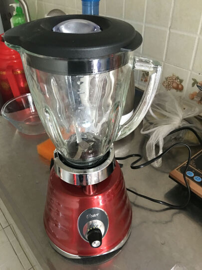奥士达(Oster) 搅拌机料理机多功能 榨汁机家用制碎冰奶昔BLST4090-073 蓝色 晒单图