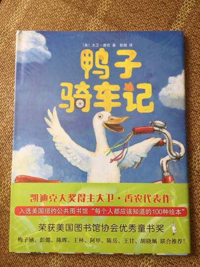 【硬壳精装】鸭子骑车记0-3-6岁儿童绘本 幼儿故事书 幼儿园绘本 爱心树 晒单图