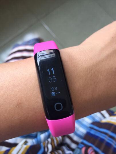 乐心(lifesense) 乐心手环2 智能心率游泳运动手表 触摸屏 支持/三星/苹果/华为等 MAMBO2 玫瑰粉 晒单图