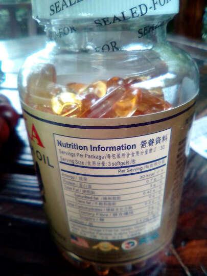 康力斯(K-LES) 美国深海鱼油康力士鱼肝油原装进口软胶囊 清血管降血脂血糖降血压降三高调节三高 欧米伽3鱼油 100粒/ 1000mg 晒单图