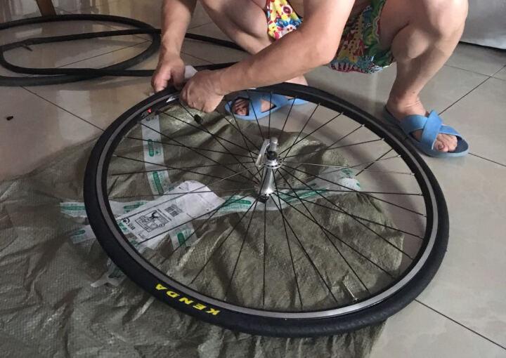 KENDA 建大轮胎 公路自行车内胎700*23 25 28 32 35 43C 700C 700*35/43C 法嘴 晒单图