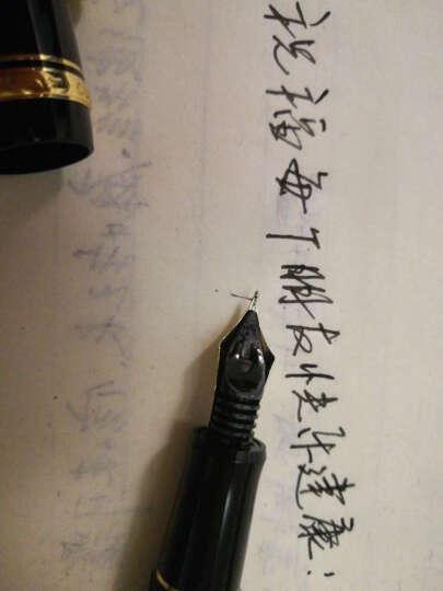 百乐(PILOT) 顺丰 日本 custom 经典74 14K金 钢笔 墨水笔 深红色 F尖 晒单图