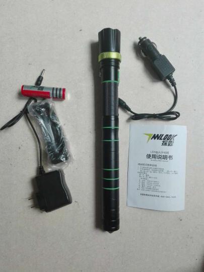 探露户外手电筒 强光手电筒可充电远射带安全锤 野营求生多功能 户外应急手电 豪华套餐 晒单图