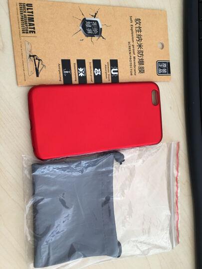 拓恩 苹果6S全屏覆盖钢化玻璃膜/手机保护贴膜 适用于iPhone6/6S/6S Plus 5.5英寸全屏钢化膜-象牙白 晒单图