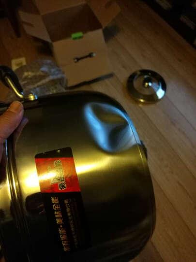 振能(ZHENNENG) 振能 新日式蒸锅 进口不锈钢复底蒸锅锅  电磁炉通用 20复底 26cm单底 晒单图