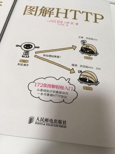 图解HTTP+图解TCP/IP+图解网络硬件(套装共3册) 晒单图