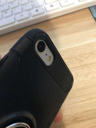 优内特 苹果7手机壳iPhone7 plus保护套苹果8硅胶防摔男女款8P全包软壳指环支架 4.7寸--苹果7/8典雅黑 晒单图