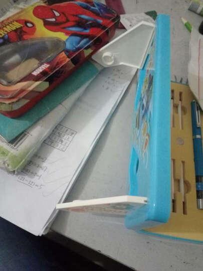 哲趣 正姿护眼笔 防学生近视笔铅笔6-12岁儿童坐姿矫正笔文具盒套装 浅蓝色(三用) 晒单图