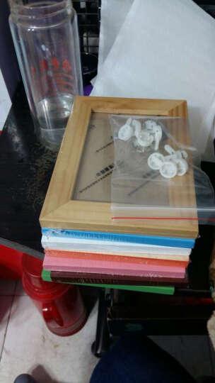 天字一号(TIAN ZHI YI HAO) 实木相框架7寸6寸A4照片墙创意相框画框像框 原木色 A4挂式  横竖可挂 晒单图
