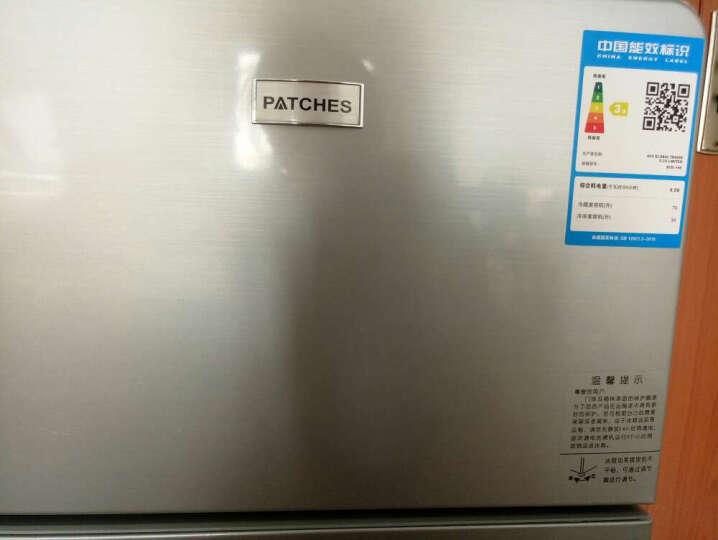 帕琪丝(PATCHES) 冰箱 小型 迷你冰箱 家用双门小型冰箱节能小冰箱BCD-53 晒单图
