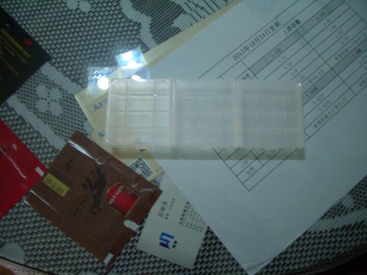 德力普(Delipow) 电池收纳盒 5号/7号充电电池收纳盒 5号7号电池两用【赠品拍下不发货】 电池收纳盒1个 晒单图