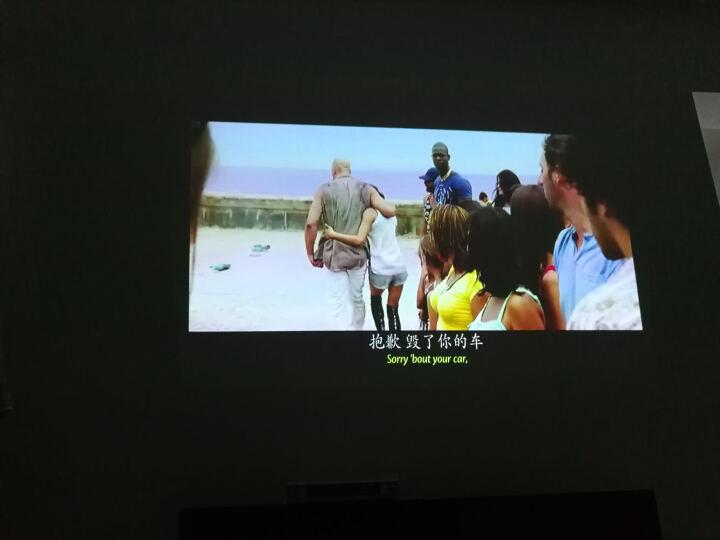 DLP高清高亮度投影仪 办公教学培训家用便携投影机 旗舰版 晒单图