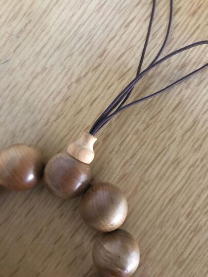 福安阁 佛珠专用线 DIY 饰品线 穿珠绳 手链线中国结编制线各种色各种粗细/米 黄色非弹力3号绳0.8mm/米 晒单图