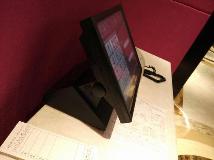 得丽珑 15英寸电容多点触摸屏一体机工业平板电脑触控查询工控机点餐监控收款机 15电容常规款 全封闭防尘无风扇-双核2.41G/2G/32G 晒单图