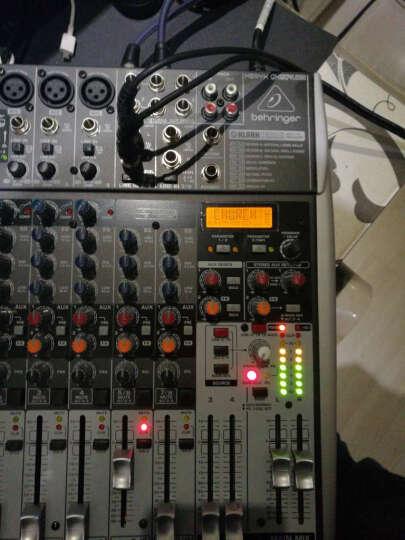 百灵达(Behringer) QX1202USB 调音台(声卡话放耳放监听效果器于一身的调音台/家庭K歌个人录音商业会议舞台演出等) 晒单图