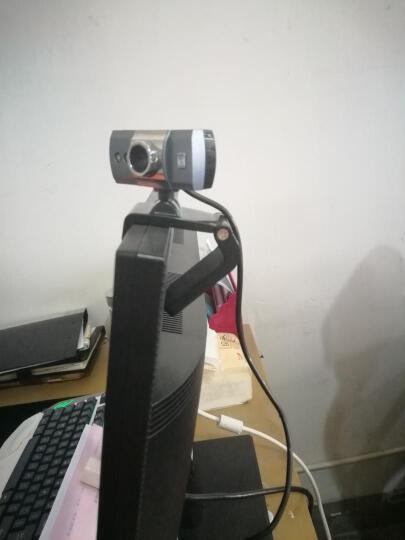 捷升 电脑摄像头台式机笔记本外置USB 高清夜视网络视频通话镜头 带麦克风 红色-特别版 晒单图
