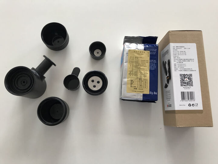 WACACO Minipresso意式便携式咖啡机 迷你手动咖啡机套装家用户外咖啡机 二代nanopresso经典咖啡粉版 晒单图