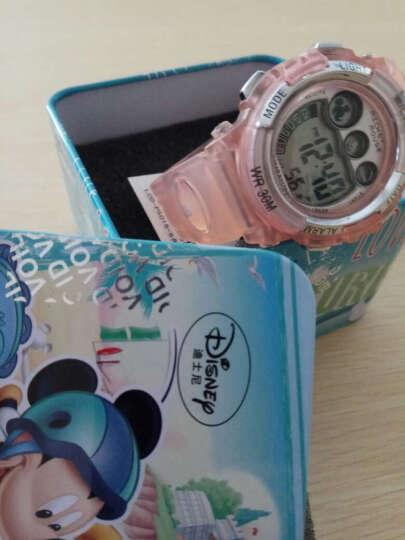 迪士尼(DISNEY)儿童手表 多功能防水橙色男孩女孩系列电子儿童运动手表 PS015-5 晒单图
