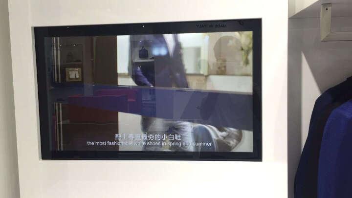 森克 多媒体教学一体机 壁挂式幼儿园电子白板 触摸屏视频会议平板电视电脑触控查询机 标配J1900/4G/64G固态 42英寸 晒单图