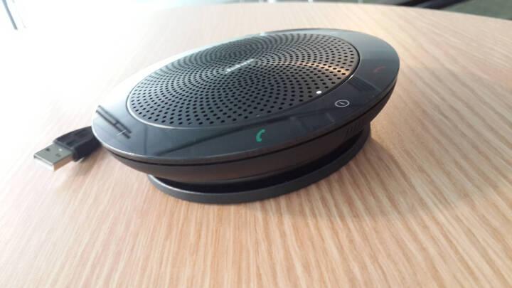 捷波朗(Jabra) speak 510+ 无线蓝牙 音频电话会议 免提通话扬声器USB 微软Lync专用 晒单图