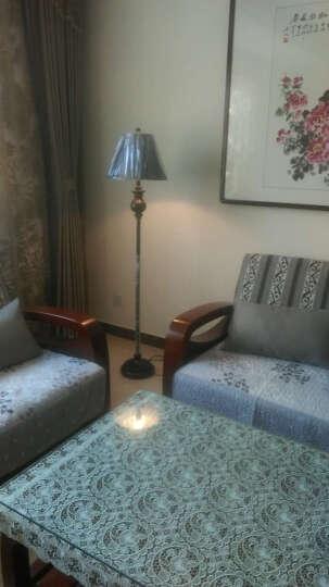 络曼(LUOMAN)  欧式卧室床头落地台灯 美式复古落地灯客厅书房创意立式台地灯 晒单图