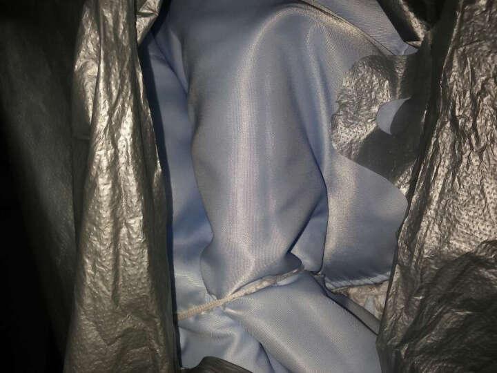 斜纹里衬里子布料 大衣包边布西装羊绒 箱包内衬面料舒美绸 淡蓝55 晒单图