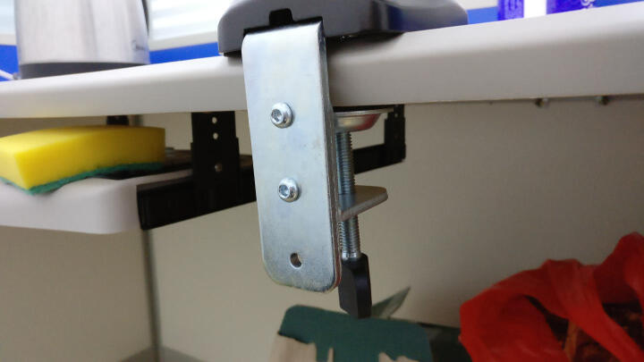Brateck液晶电脑显示器支架 桌面万向旋转升降显示屏支架臂 单屏底座气压架13-27英寸 LDT13-C012 晒单图