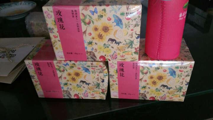【买2送1】喜乐田园·花草茶·玫瑰花茶40g/盒·干粉玫瑰茶·独立包装袋泡花茶 晒单图