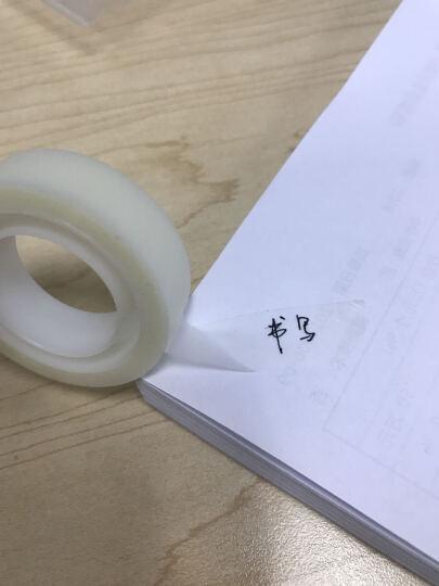 3M scotch思高810神奇隐形胶带手撕书写字测试透明磨砂胶带纸无痕33m长 12.7mm*10m 晒单图