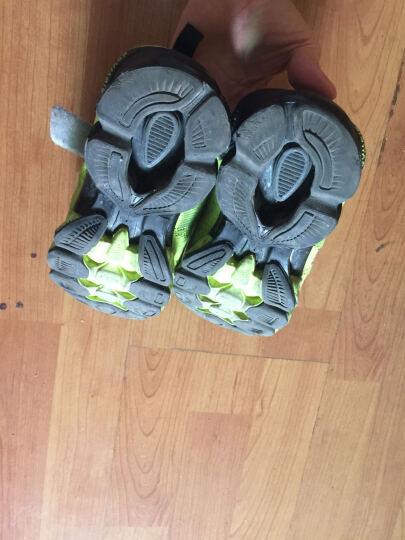 大黄蜂 BIG WASP 透气网布鞋 男童运动鞋 女童旅游鞋6-12岁 116318088 黑绿-33码 晒单图