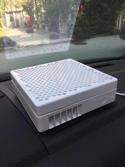 远大车载空气净化器 除雾霾除PM2.5除甲醛异味二手烟 车用肺保FC3 白色 晒单图