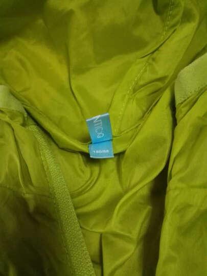 派克兰帝(PacLantic)男女童夹克 男童女童户外超轻皮肤衣 JJCJ15303 荧光绿 150 晒单图