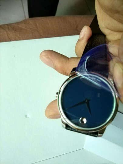 摩凡陀(Movado)官方旗舰店 瑞士手表 博物馆系列 MUSEUM CLASSIC男士石英手表 皮带腕表0607013 晒单图