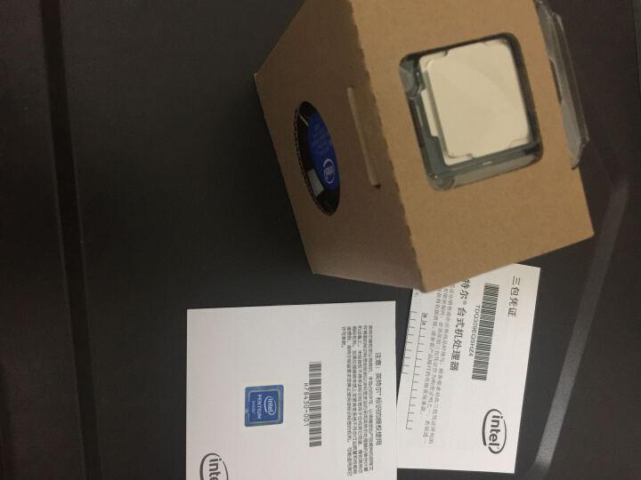 英特尔(Intel)奔腾双核G4600 盒装CPU处理器 晒单图