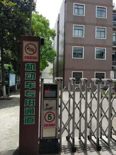 安全警示标志牌 工厂 验厂提示牌标识牌 禁止通行户内户外PVC丝印定制 禁鸣喇叭 晒单图