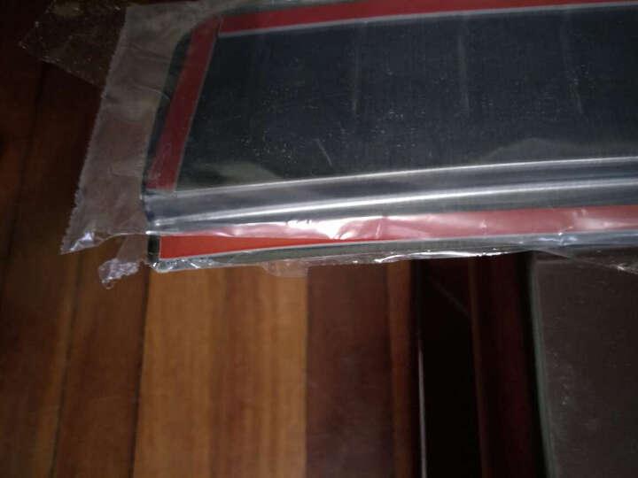 创运 奔驰glc后护板改装GLC260 GLC200 300尾箱后护板后备箱踏板装饰条 GLC专用外置后护板-加长版 晒单图
